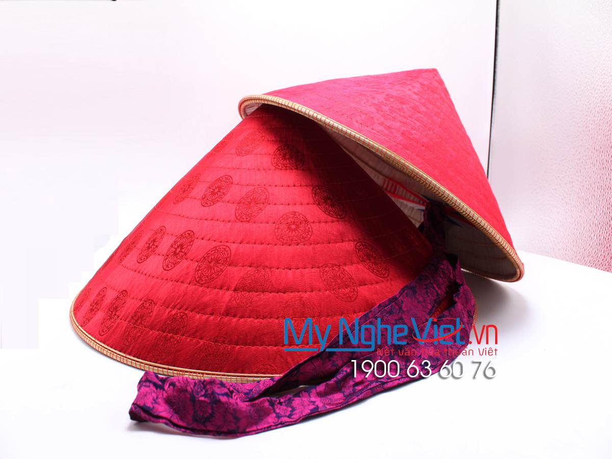 Ha Dong Silk Hat - Non La - MNV-NL02 (Small)