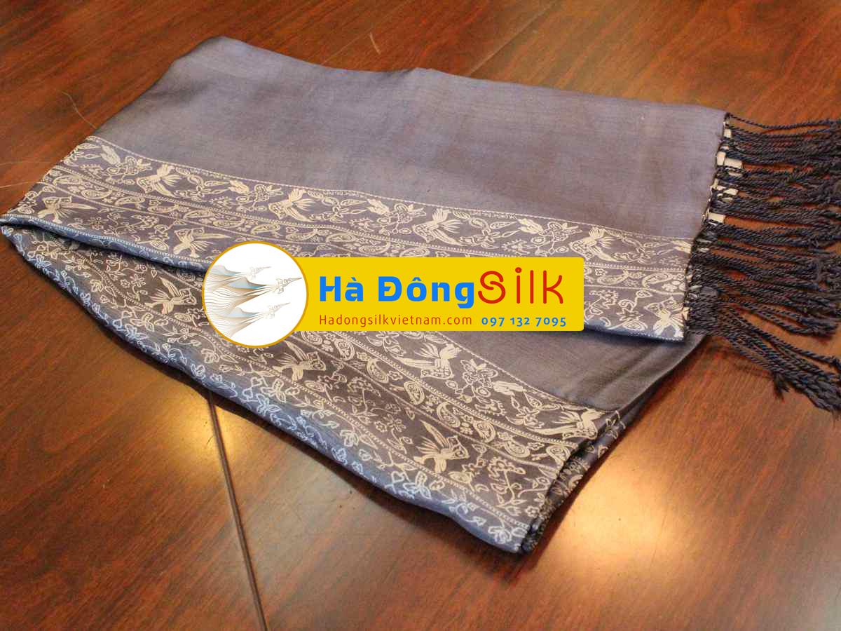 Khăn choàng cổ Hà Đông size lớn MNV-KL21