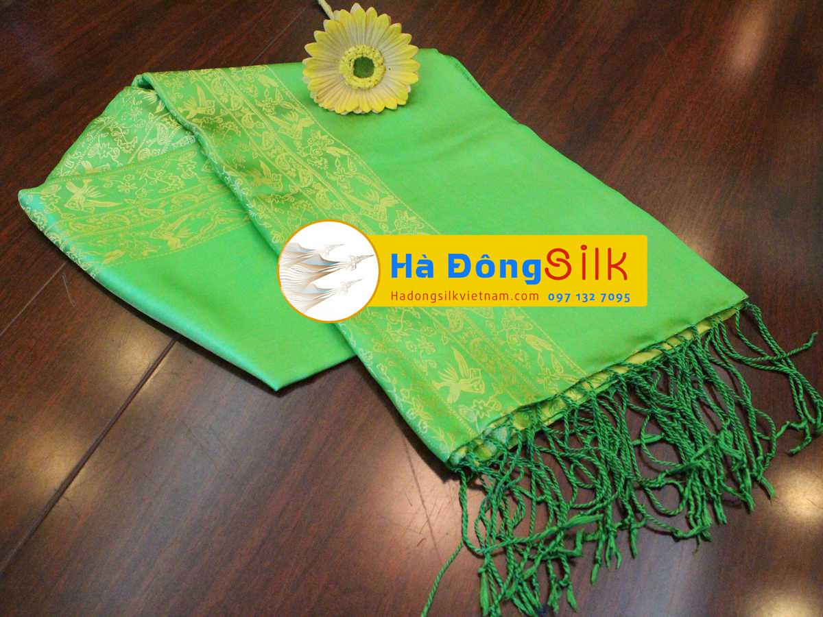 Khăn choàng cổ Hà Đông size lớn MNV-KL25