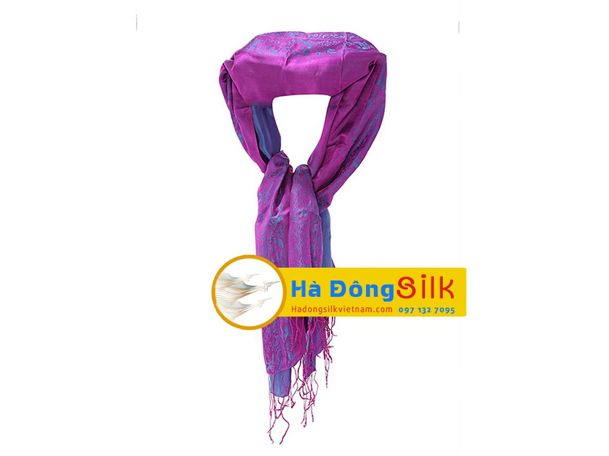 Khăn choàng cổ Hà Đông size lớn MNV-KL43